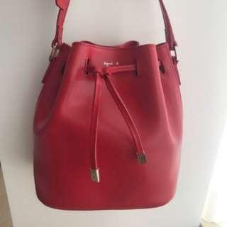 Agnes B buckle bag 水桶袋