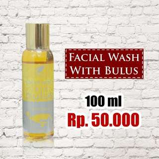 Bulus Oil for Face Wash