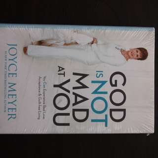God Is Not Mad At You by Joyce Meyer (Hardbound)