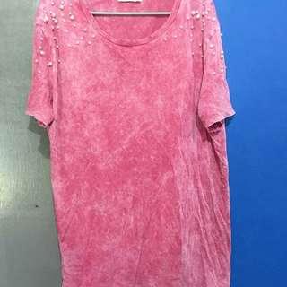 Zara pearl shirt