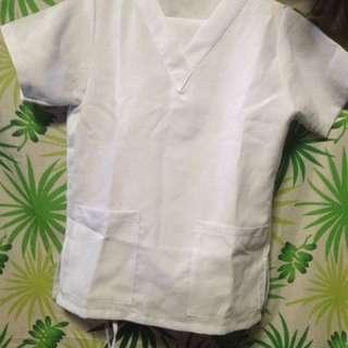 Scrub suit (White)