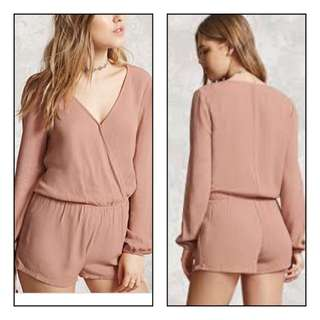 Forever 21 romper in Dusty Rose size small