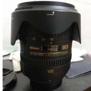 Nikon AF-S 16-85mm