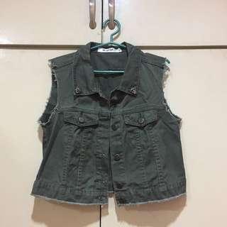 Next Army Green Vest