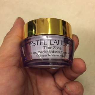 Estée Lauder line and wrinkle reducing cream