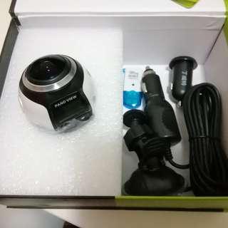 360全方位車cam, 可同步手機睇影像