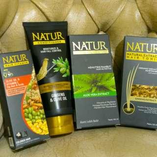 PROMO! Paket Hair Treatment Natur