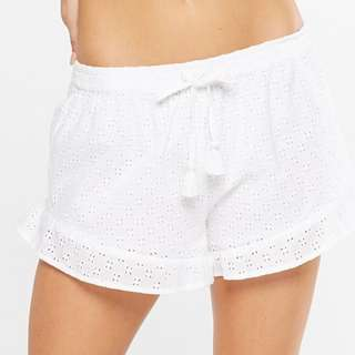 Brand New Cotton On Frill White Shorts