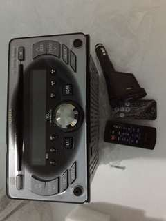 Toyota Vios Original head unit and MP3 USB player