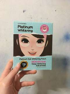 Platinum Eye Whitening Patch