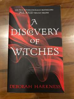 New Paperback - A Discovery of Witches by Deborah Harknesd