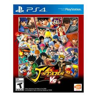 PS4 J-Stars Victory VS