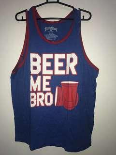 """Beer Me Bro"" Tank Top"