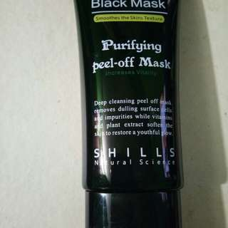 PURIFYING PEEL OFF MASK BLACK MASK