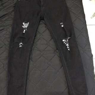 窄管破褲M-L