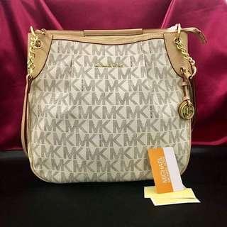Mk Monogram Hobo Bag