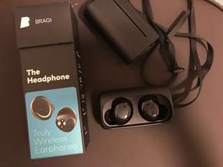 Bragi The Headphone無線藍芽耳機