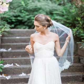 Charming Elbow Length Bridal Veil