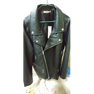 1 to 10 People Double Rider PU Leather Jacket皮褸