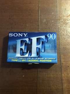 Sony 90min recording cassette tape