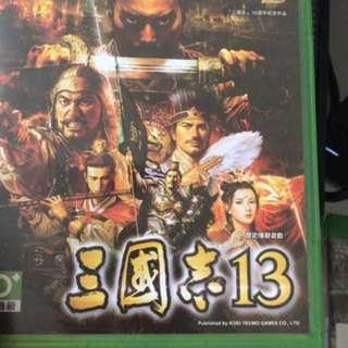 Xbox one 三國志13