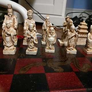 古董國際象棋—中國版