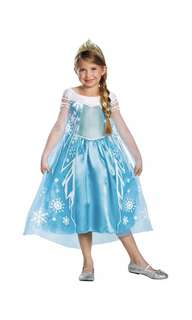 BN Disney Frozen Elsa Costume Dress