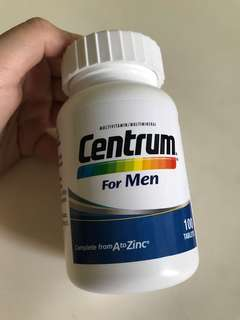 Centrum for men 100 tablets