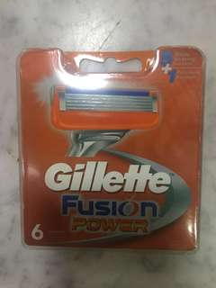 Gillette Fusion Power 6 blades