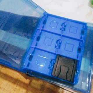 Game cart case for 3ds games