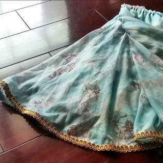近全新 小天使 半身裙 及膝裙 日牌同款 軟妹