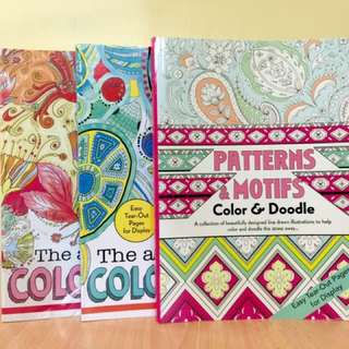 SALE: Adult Coloring Books