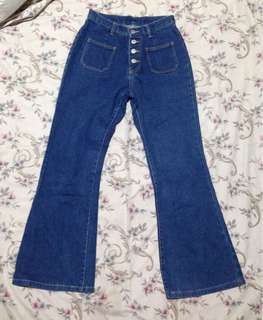 Vintage Pants. Elephant style