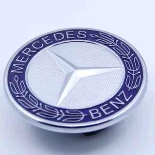 New Flat Hood OEM Emblem car badge for Mercedes Benz