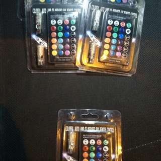 RGB T10 LED WITH REMOTE CONTROL