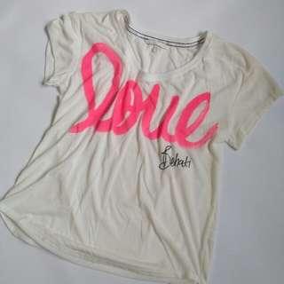Victoria's Secret, t shirt, pajama, Size M/L