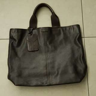 Yves Saint Laurent Full Leather Tote Bag