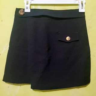 Black Skort Import / rok celana hitam / skort / skirt