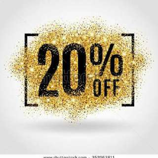 20% Off On All Items For Women