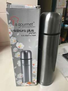 Thermos Flask Silver