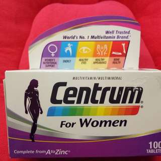 Centrum for Women (100 Tablets)
