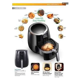 MIDEA Air Fryer MAF-CN20A (2.2L) Touch Control + LED Display