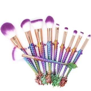 [PO]: Mermaid Brush Set