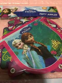 Instock authentic frozen party birthday letter banner brand new