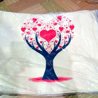 Printed Heart Bag