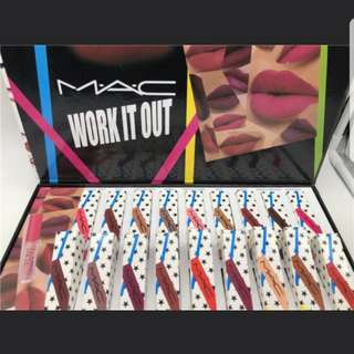 Mac 'work it out' collection