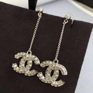 Chanel Earrings 淺金色
