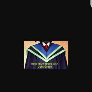NTU SBS Graduation Academic Convocation Gown