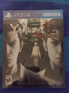 [PS4] Yakuza Kiwami Steelbook Edition