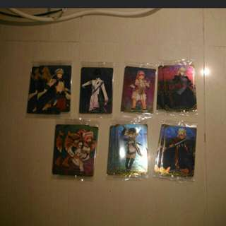 FGO Wafer cards